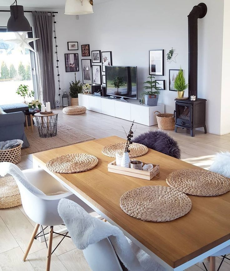 Cool Living Room Simple White Walls And Modern Furniture My Place Elegant Living Room Living Room Interior Living Room Scandinavian