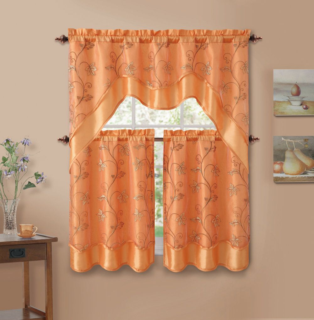 Mulholland valance and tier set curtain pinterest curtains