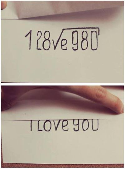 Drawing Lines From Equations : Quot i love you formula equation u pinterest