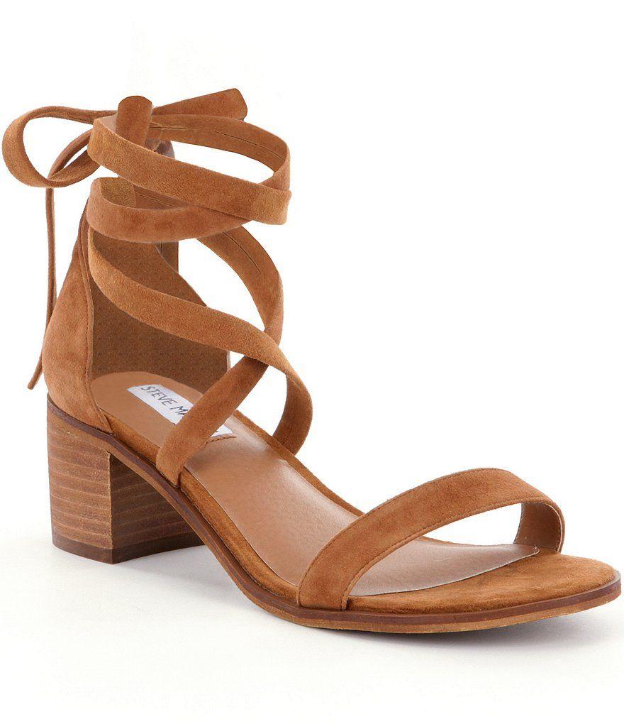 Cognac:Steve Madden Rizzaa Sandals