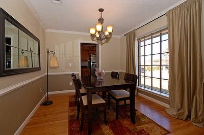 Frugal Home Ideas Paint Color Party And Giveaway Today Dining Room Colors Dining Room Paint Colors Dining Room Chair Rail