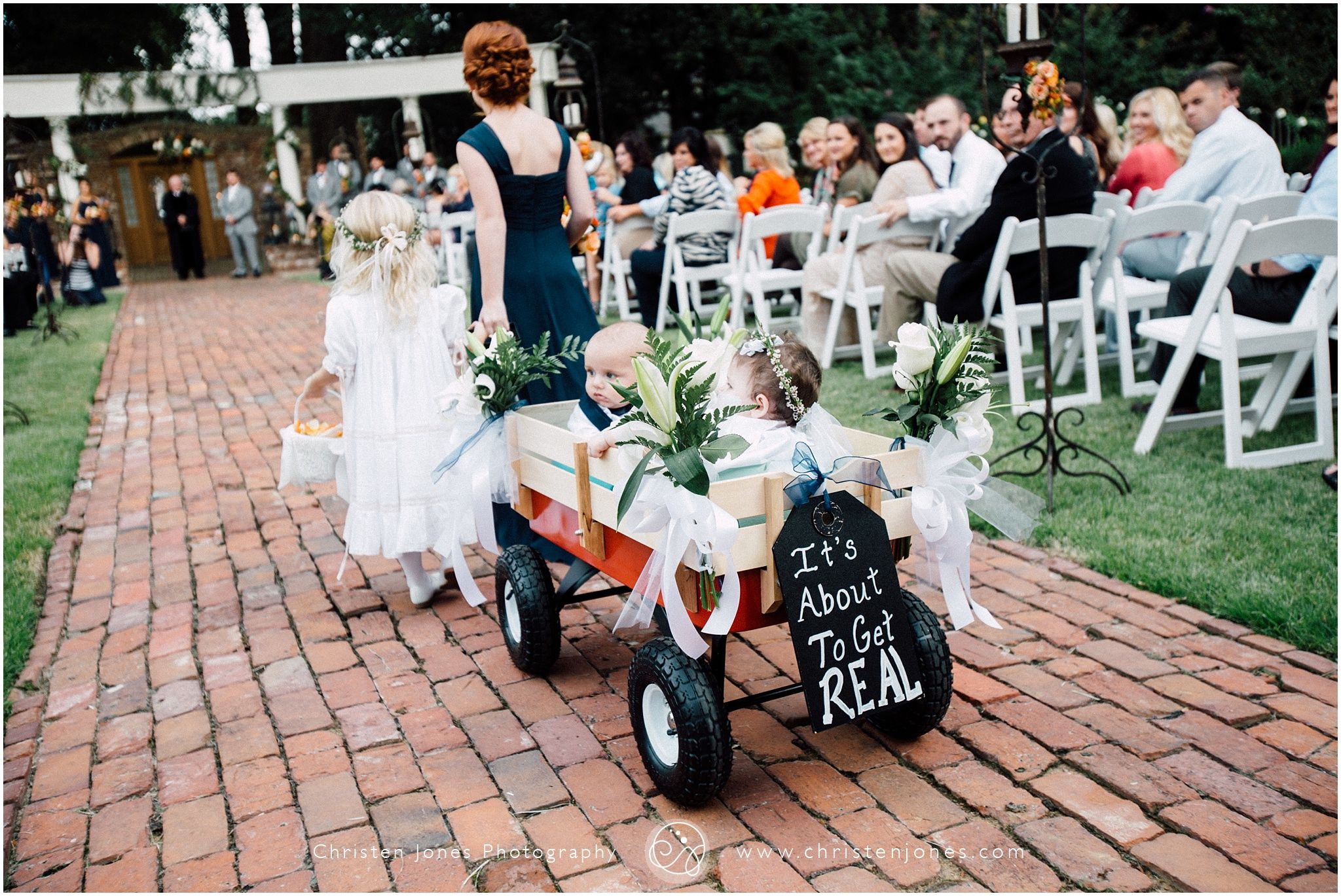 Kids Wedding Wagon Kids Walking Down The Aisle Flower Girl Ring Bearer Flower Girl Dres Wagon For Wedding Flower Girl Wagon Wedding With Kids