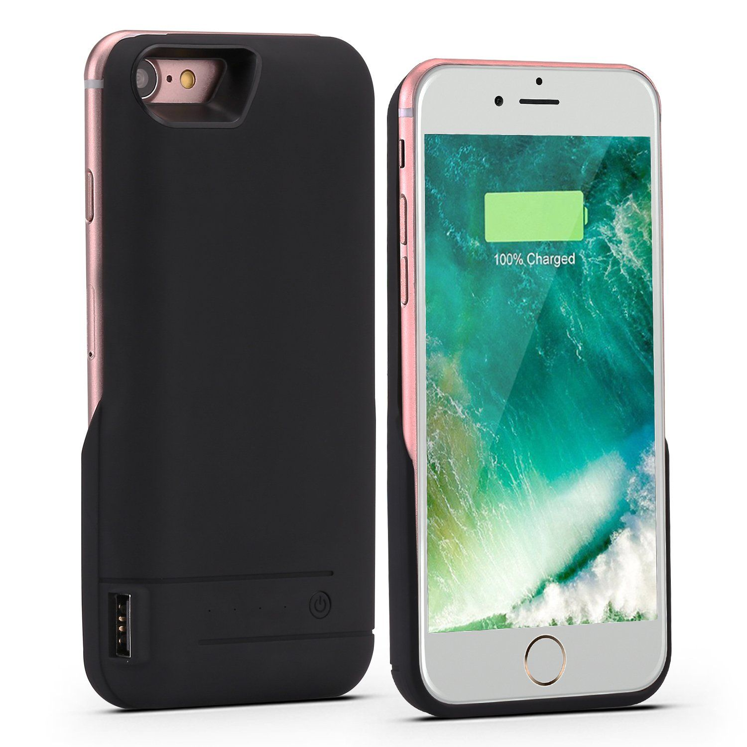Iphone 8 Battery Case Iphone 7 Battery Case Peyou 5800mah Portable