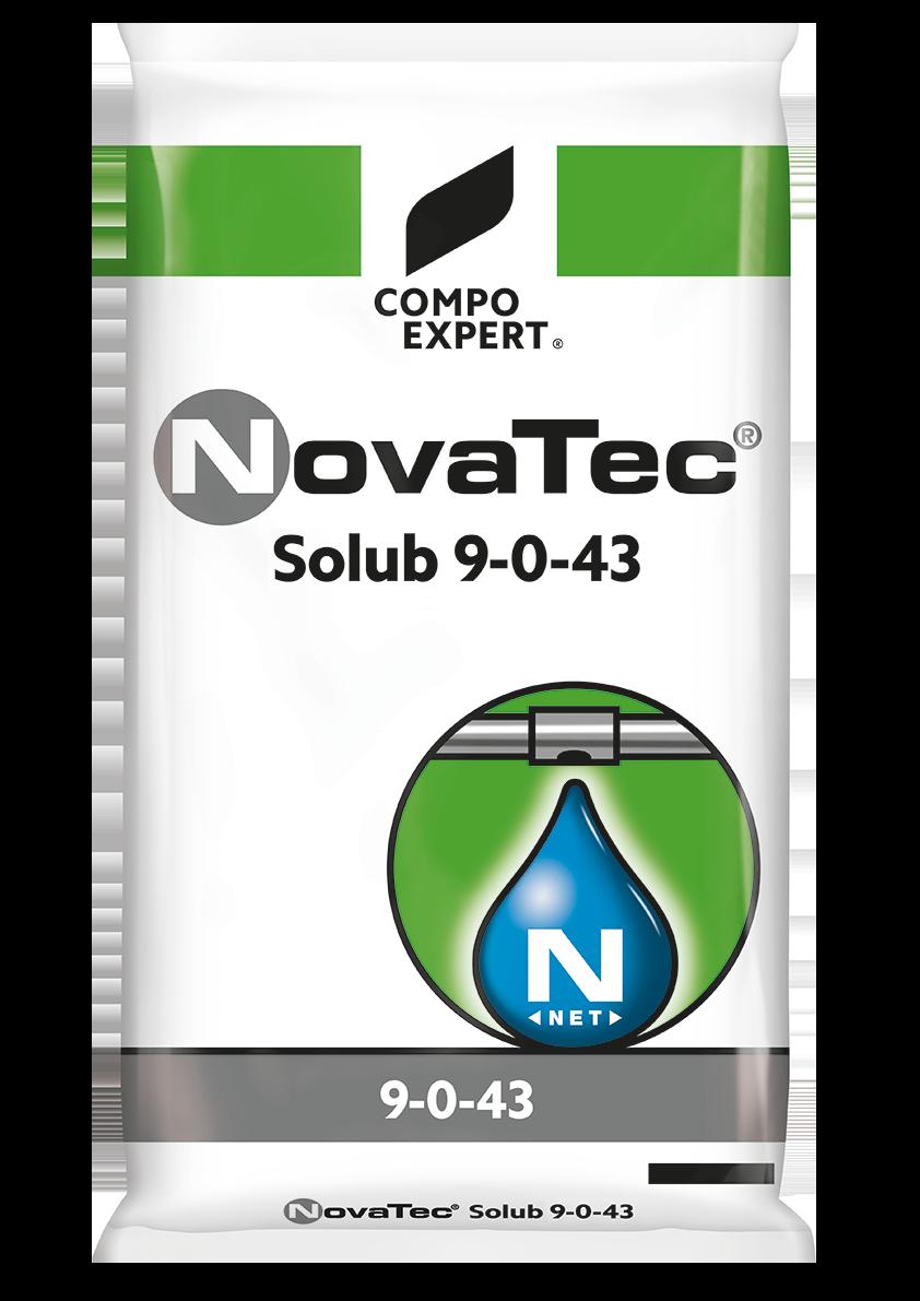 Photo of NovaTec Solub 9-0-43 Σύνθεση: 9-0-43  Αζωτούχο υδατοδιαλ…
