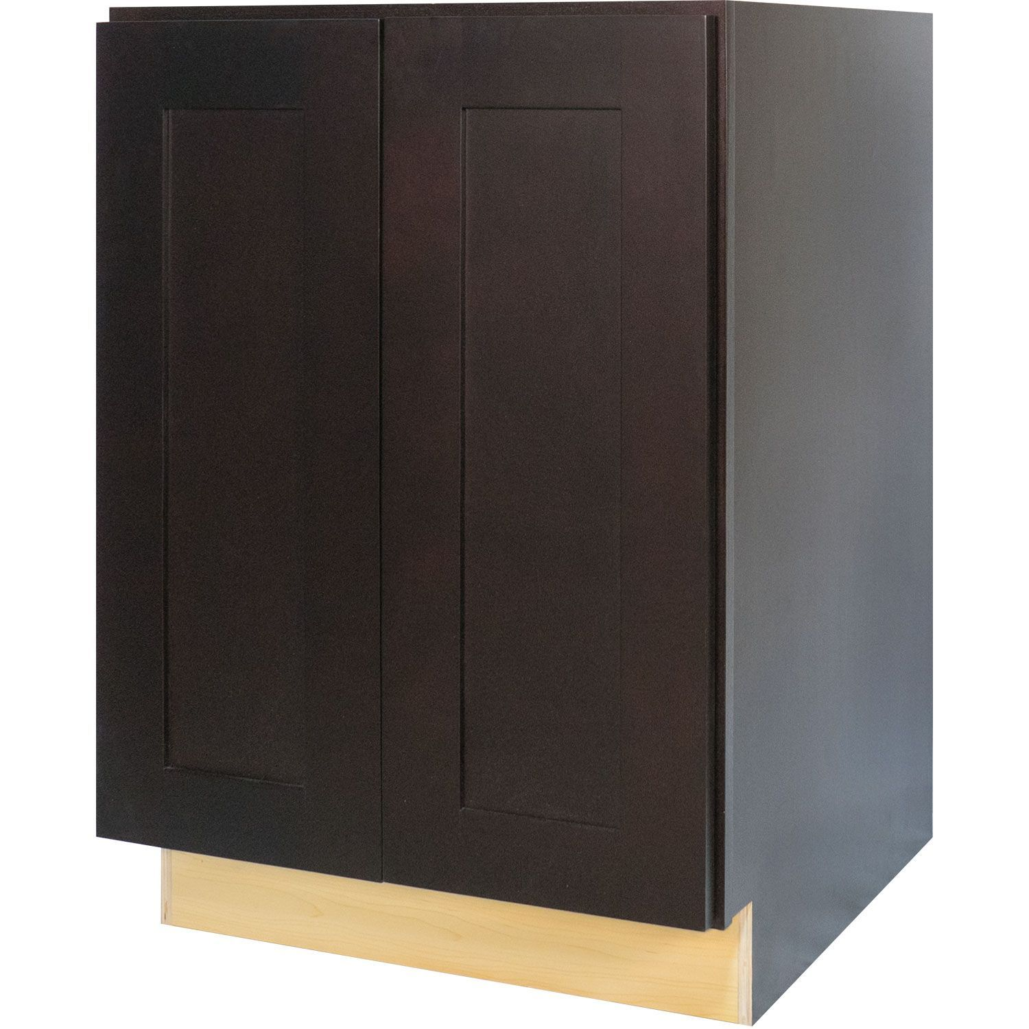 Best 24 Inch Full Height Door Base Cabinet In Shaker Espresso 400 x 300
