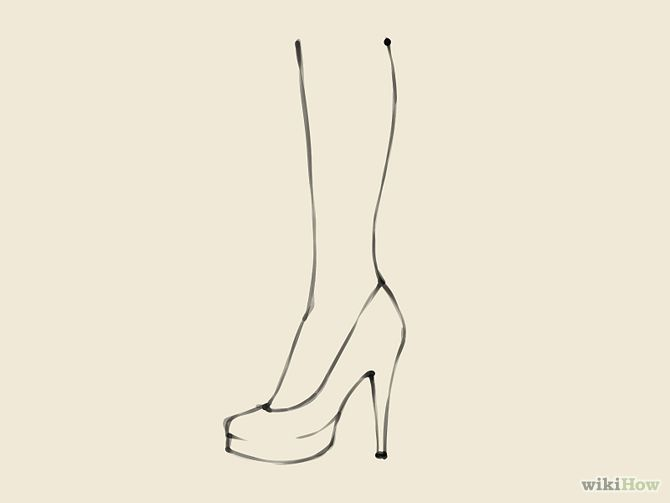how to draw shoes google search