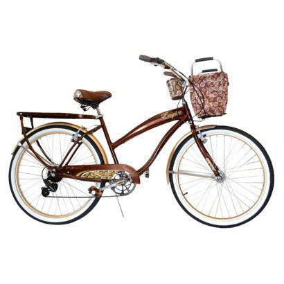 Brown NEW Huffy Bike Basket Collapsable