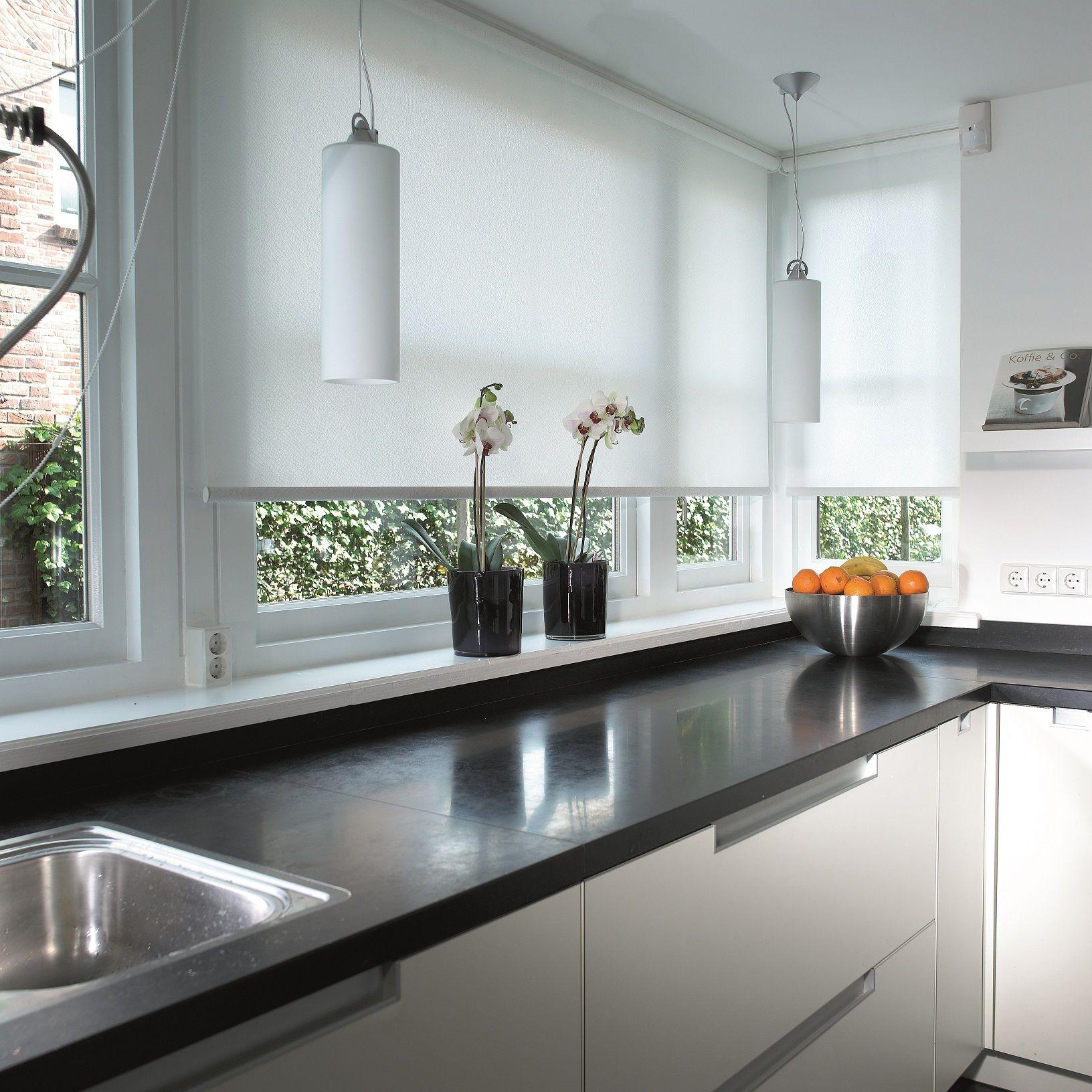 Cortinas enrollables cocinas hogar house blinds for Ventanas de aluminio para cocina