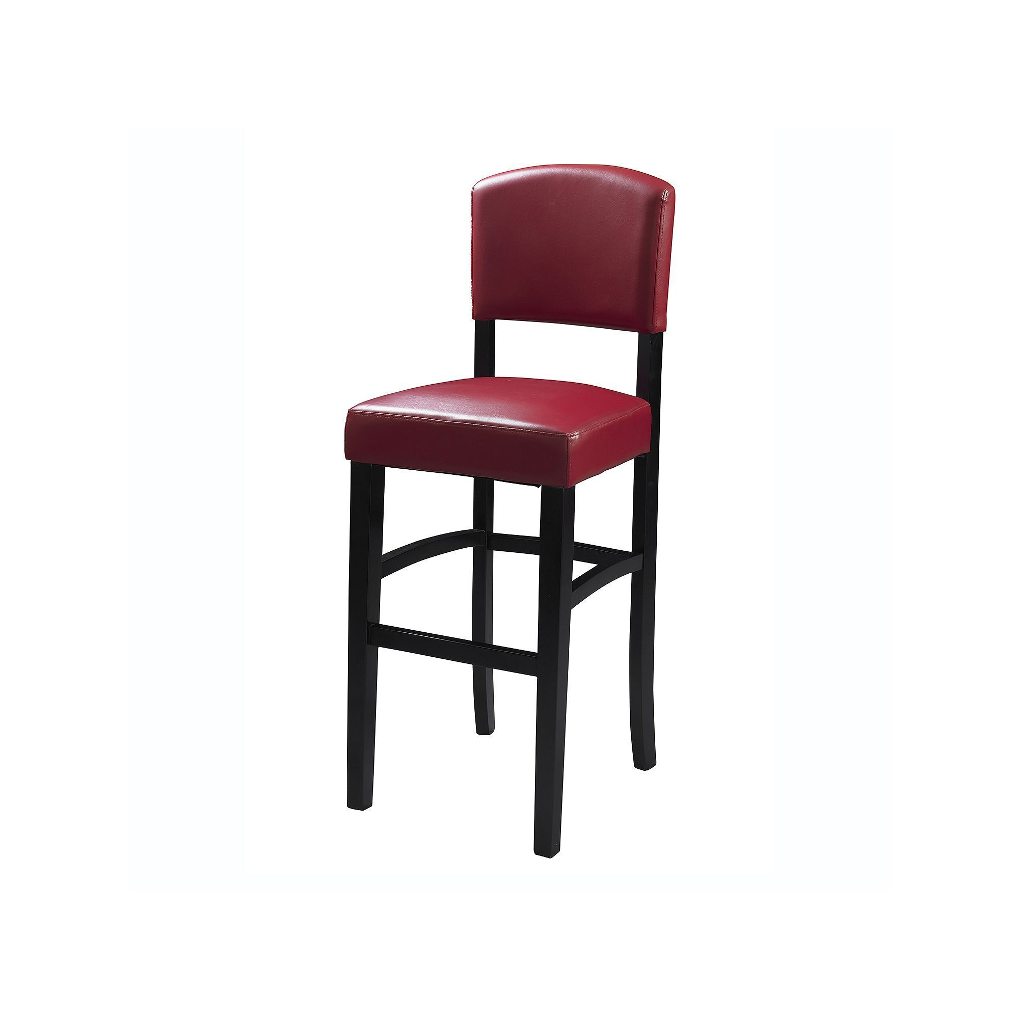 Linon Monaco Red Counter Stool Products Counter Stools Counter