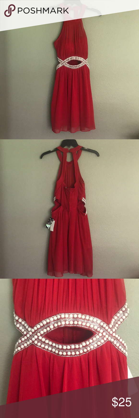 Red formal size nwt formal prom and minis