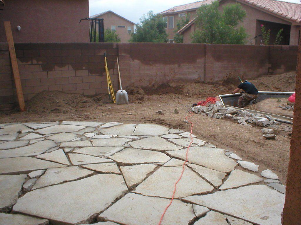 Urbanite   Recycled Concrete Patio
