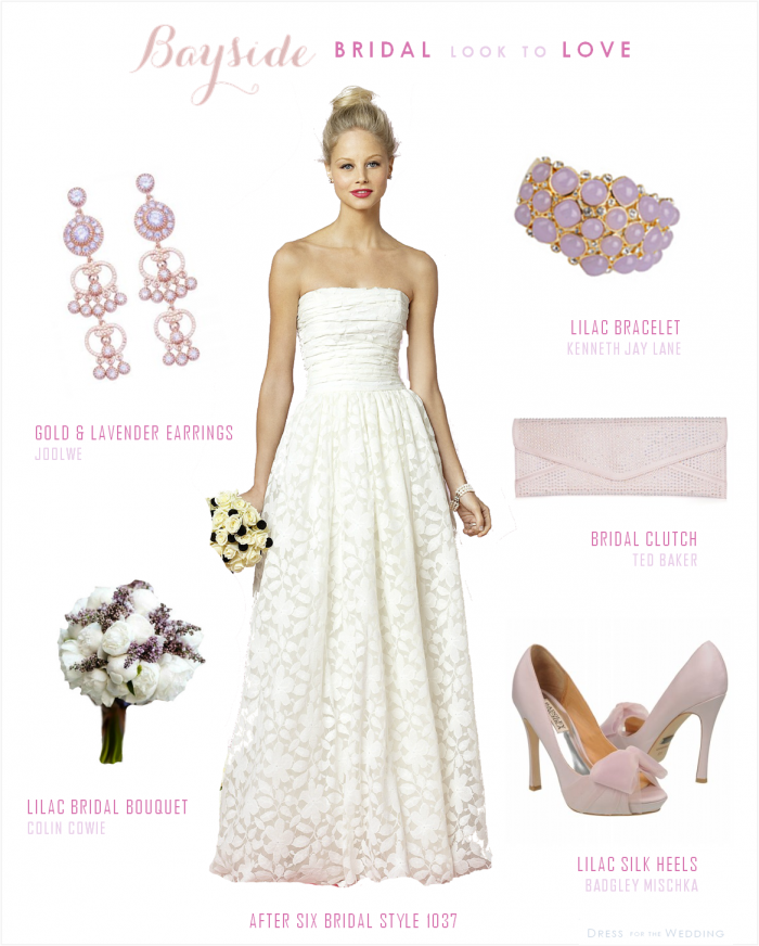 Lace wedding dress with lavender accessories lilacs lace wedding lace wedding dress with lavender accessories junglespirit Images