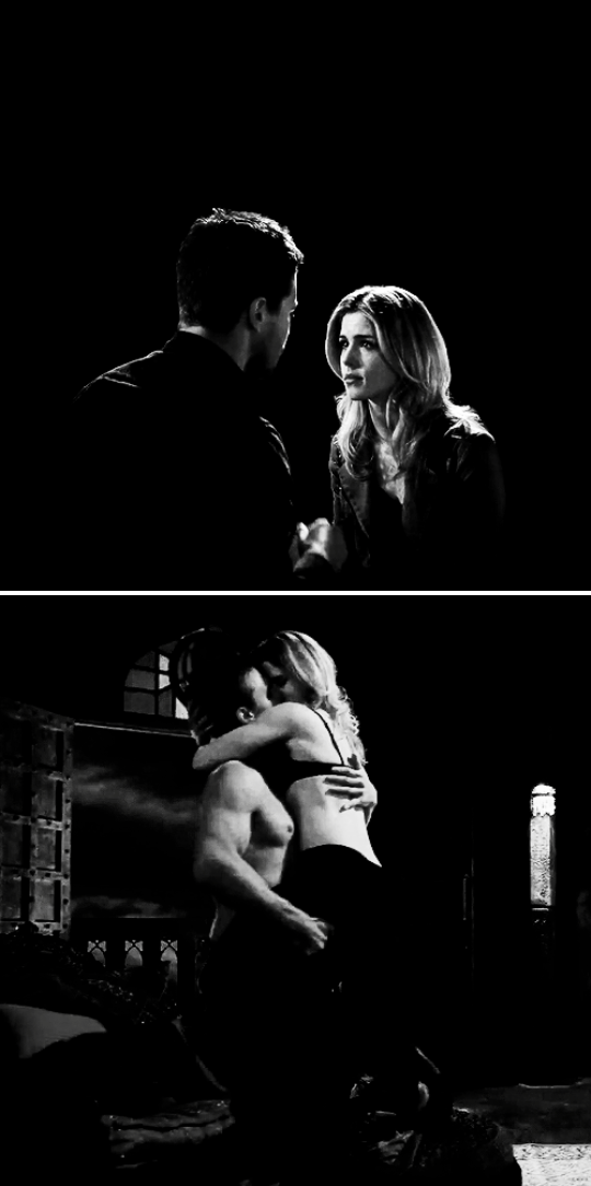 Felicity, hold on to me tight. I imagined you saying that under different circumstances.  #arrow