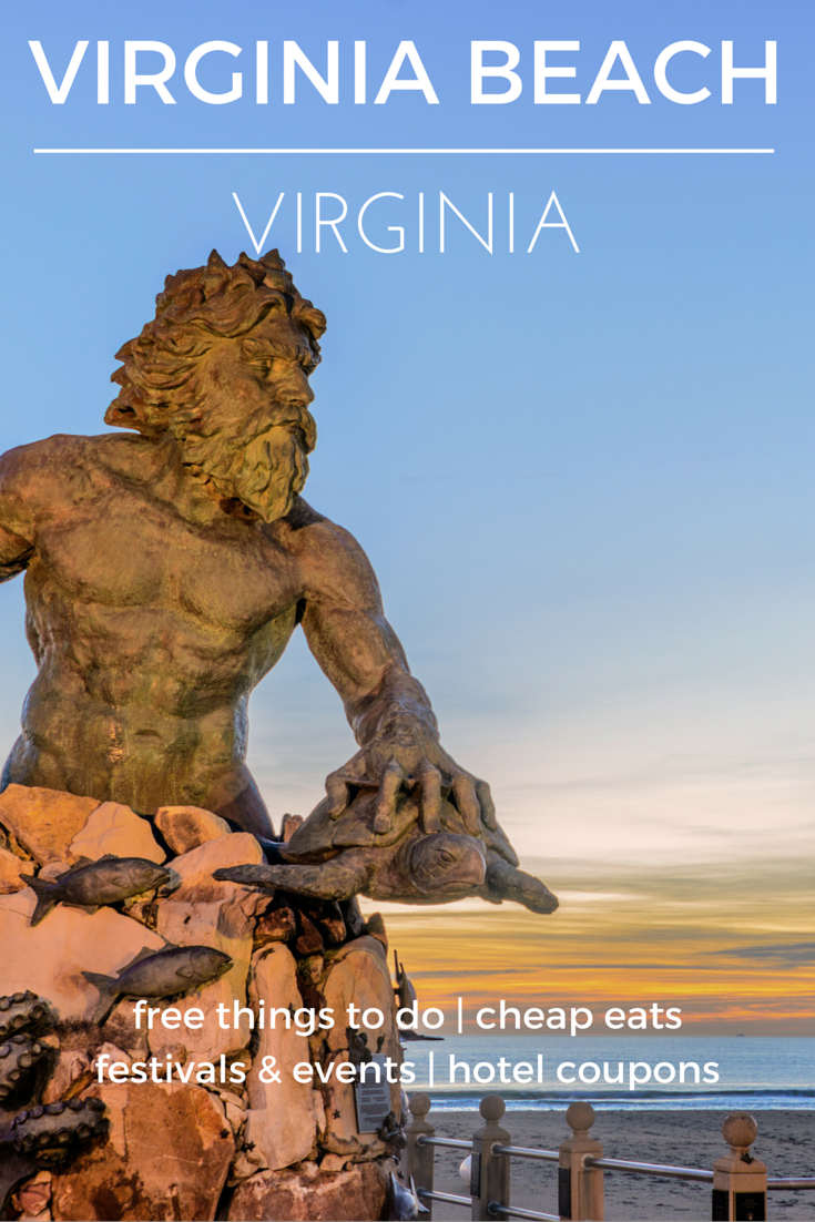 This beach destination is fun year-round with great history, military, and art museums to visit - Check out the destination guide to Virginia Beach and other major U.S. cities by HotelCoupons.com