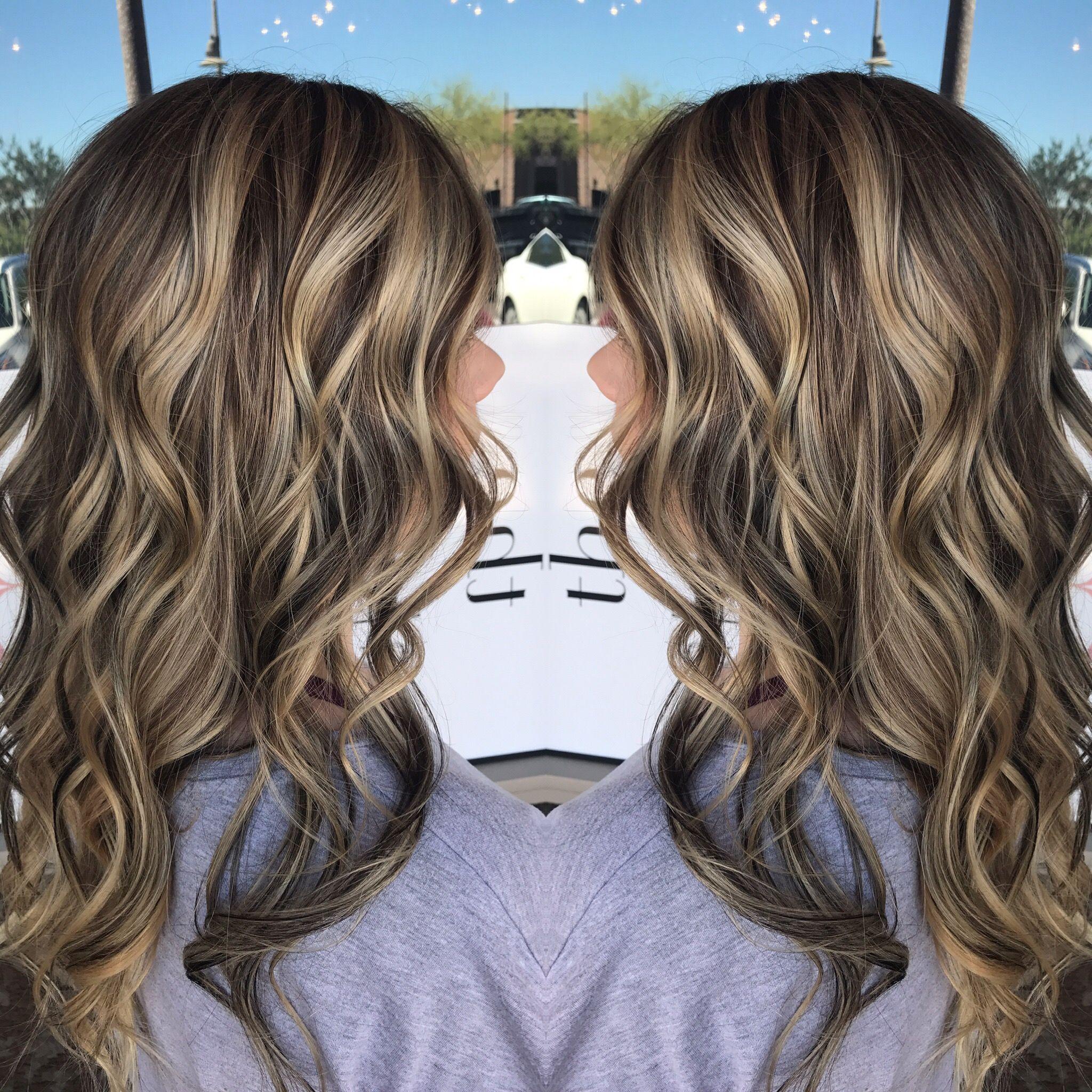 Dimensional highlight and lowlight | Hair | Hair styles ...