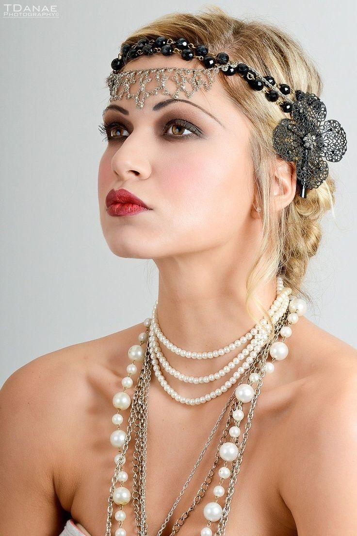 Lo más universal peinados charleston Fotos de consejos de color de pelo - 20s circus party costumes makeup - Google Search ...