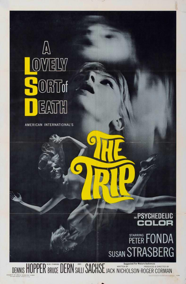 The Trip (1967) The trip 1967, Movie posters, Movie