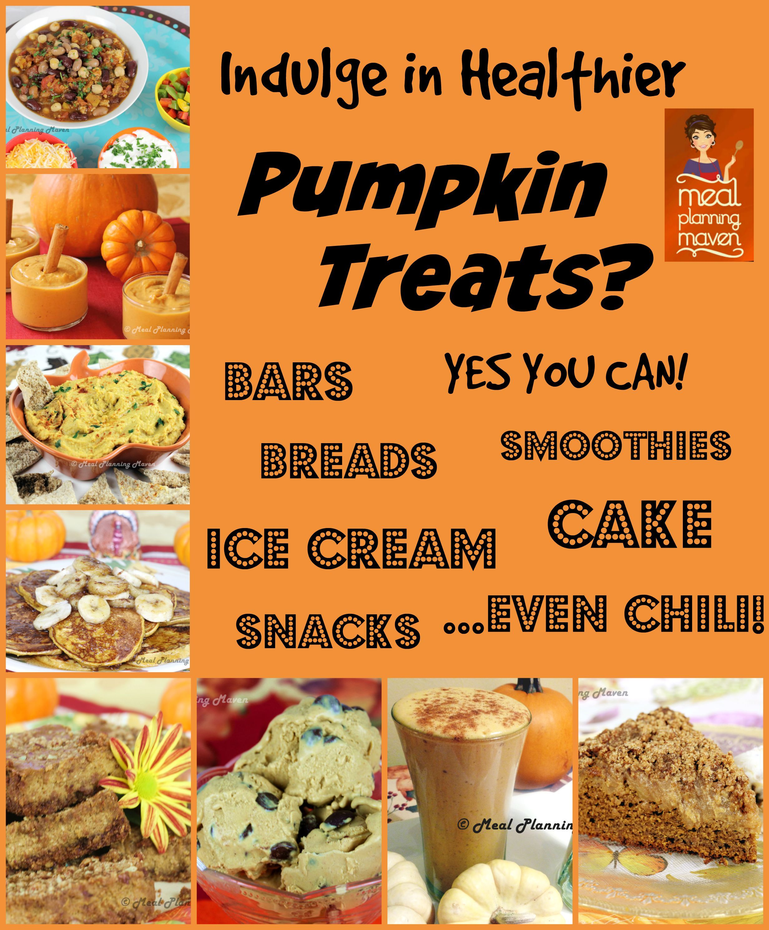 Indulge In Healthier Pumpkin Treats Yes You Can With