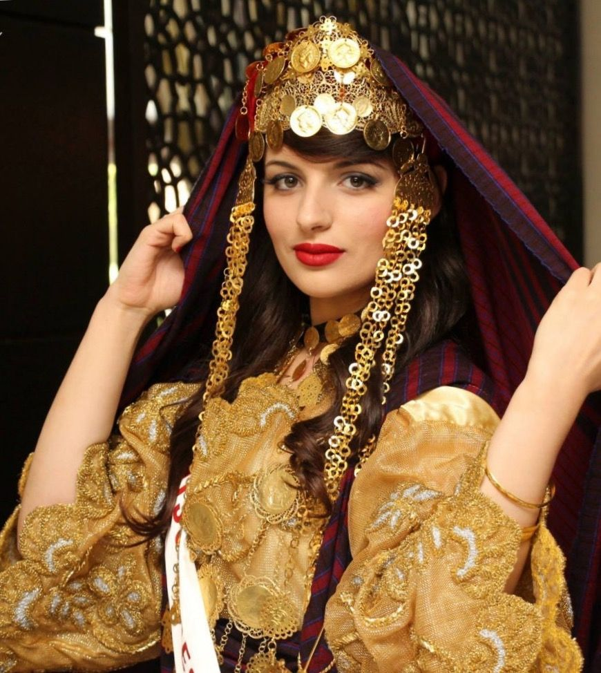 Habit Et Bijoux Traditionnels De Tunisie Habit Traditionnel Tunisien Tenue Mariage Tunisien Habit Traditionnel