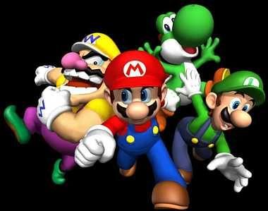Super Mario Luigi Yoshi Wario Gaming Nintendo Super Mario