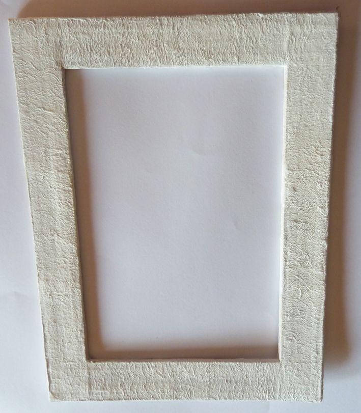 Cadre en carton - Cardboard frame | CARTONNAGE | Pinterest ...
