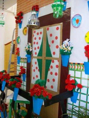 Ideas para decorar el aula en primavera balcones de - Feria de manualidades en barcelona ...