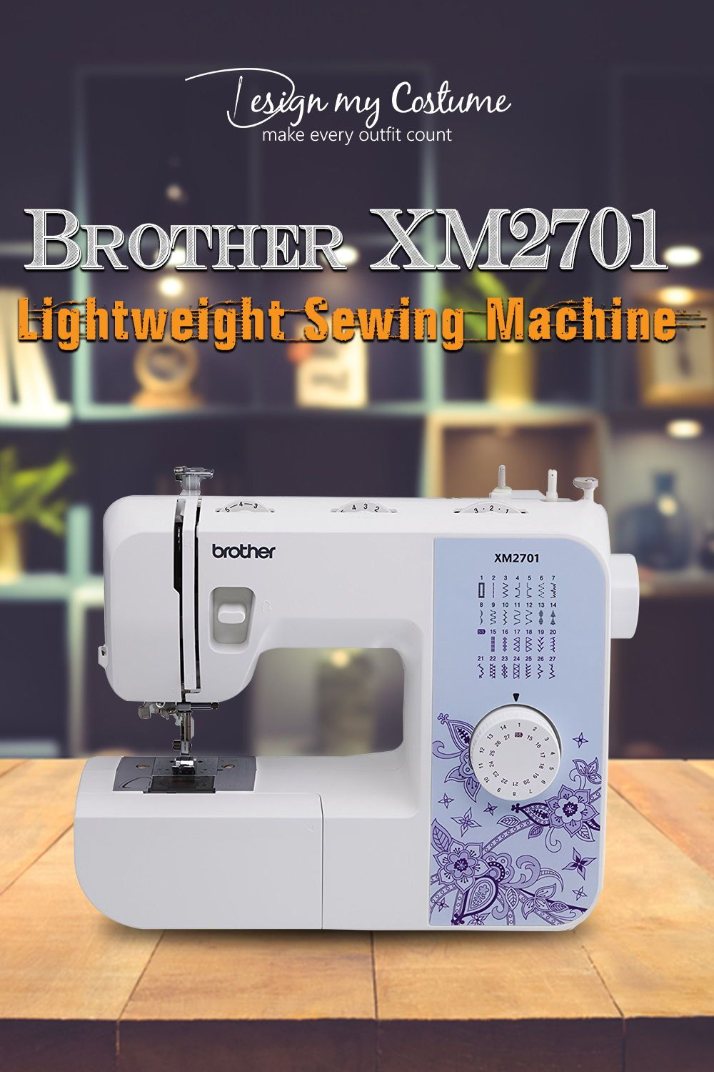Brother Xm2701 Lightweight Sewing Machine Embroidery Machines