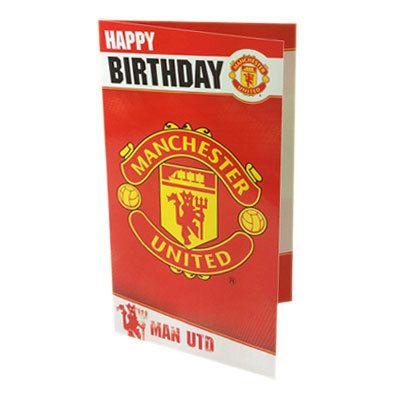 526244bad SoccerGaga.com - Manchester United F.C. Birthday Card Free Shipping to USA  & Canada