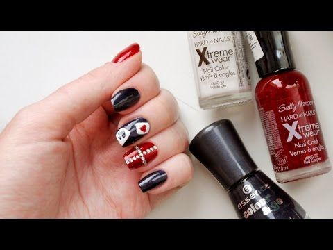Gangsta Nailart Tutorial Beauty Nails