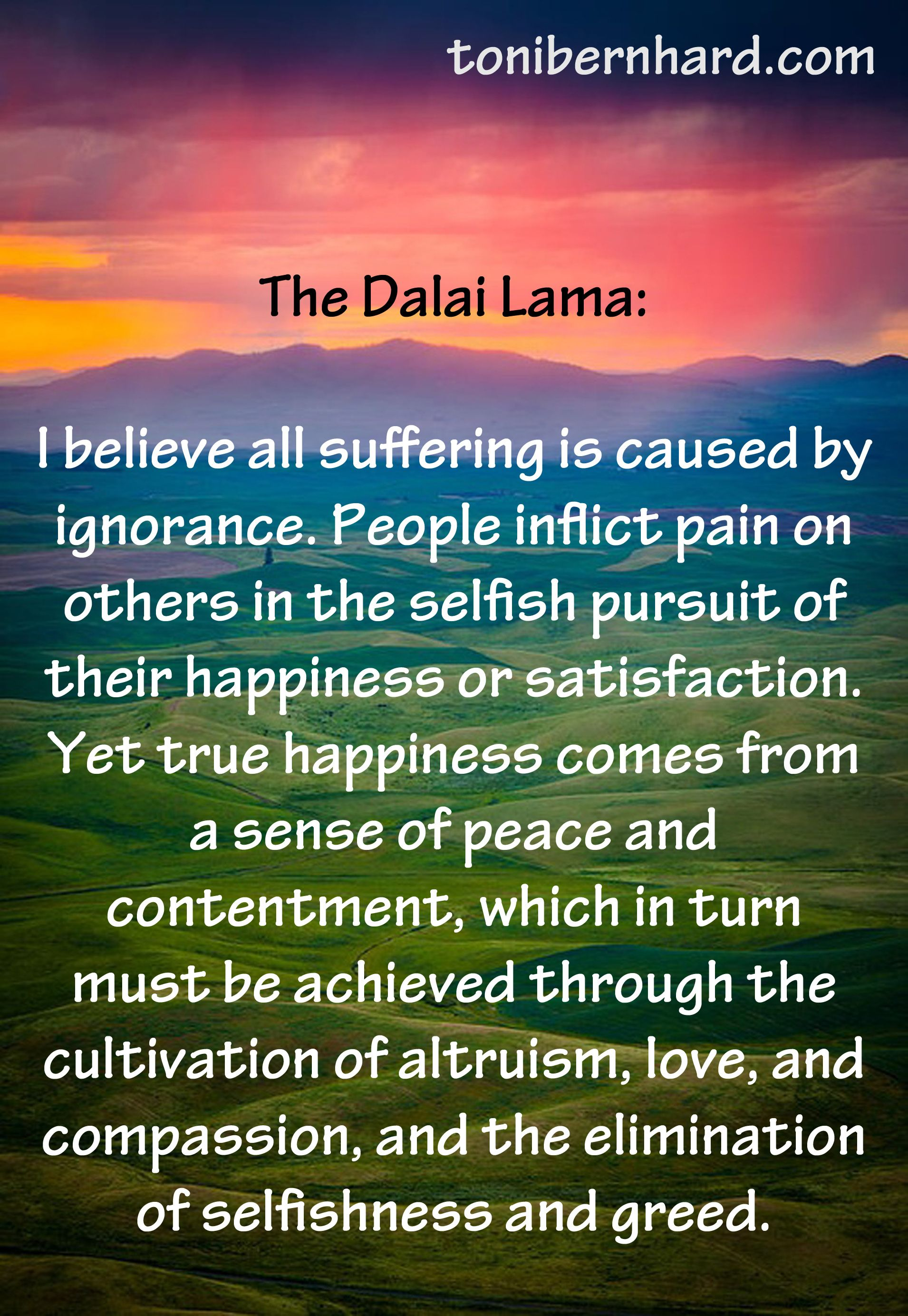The Dalai Lama Has A Message For You 13 Quotes To Steer Your Life