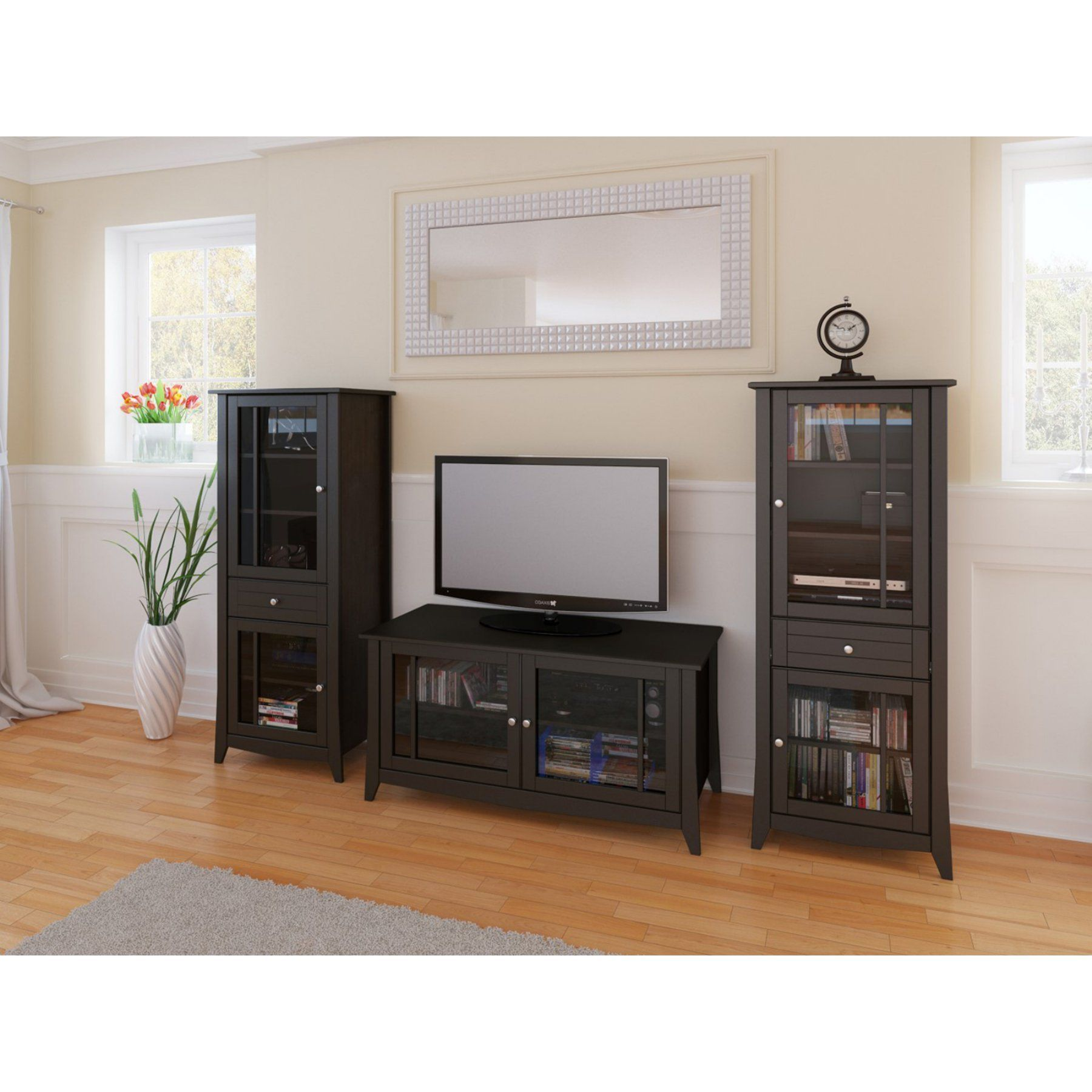 100% authentic 0be6b 84bcf Elegance 49 in. TV console with Curio Cabinet - MFI468 ...