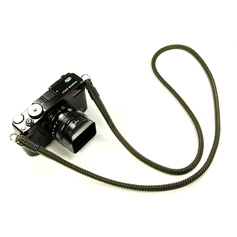 "Dark Blue 42/"" Lance Camera Straps USA String Loop Non-adjust Cord Rope Strap"