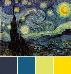 Starry Night Colors For Bedroom  Perhaps The Master Br?