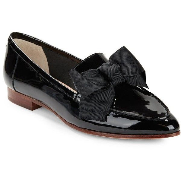 Kate Spade New York Leather Bow-Accented Loafers finishline cheap online online shop from china big sale online 5qO1lxOzYY