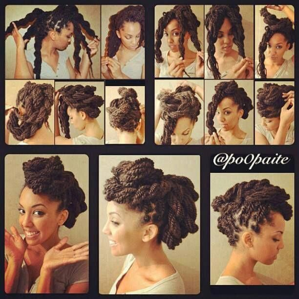Bantu Knots With Burgundy Highlights #bantuknots #hairtype #naturalhair #hairstyles  Looking for some ways of how to do bantu knots hairstyles? Twist out curls on relaxed hair inspiring styling ideas and handy tutorial are here! #lovehairstyles #hair #hairstyles #haircuts # Braids afro bantu knots
