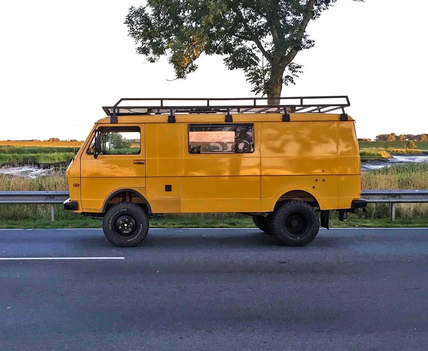 Der Volkswagen Vw Lt 40 Mit Allrad Oder 4x4 Ist Ein Transporter Den Man Gebraucht Kaufen Kann Und Fur Vanlife Reisen Perfekt Gee Vw Lt 35 Vw Syncro Vw Van