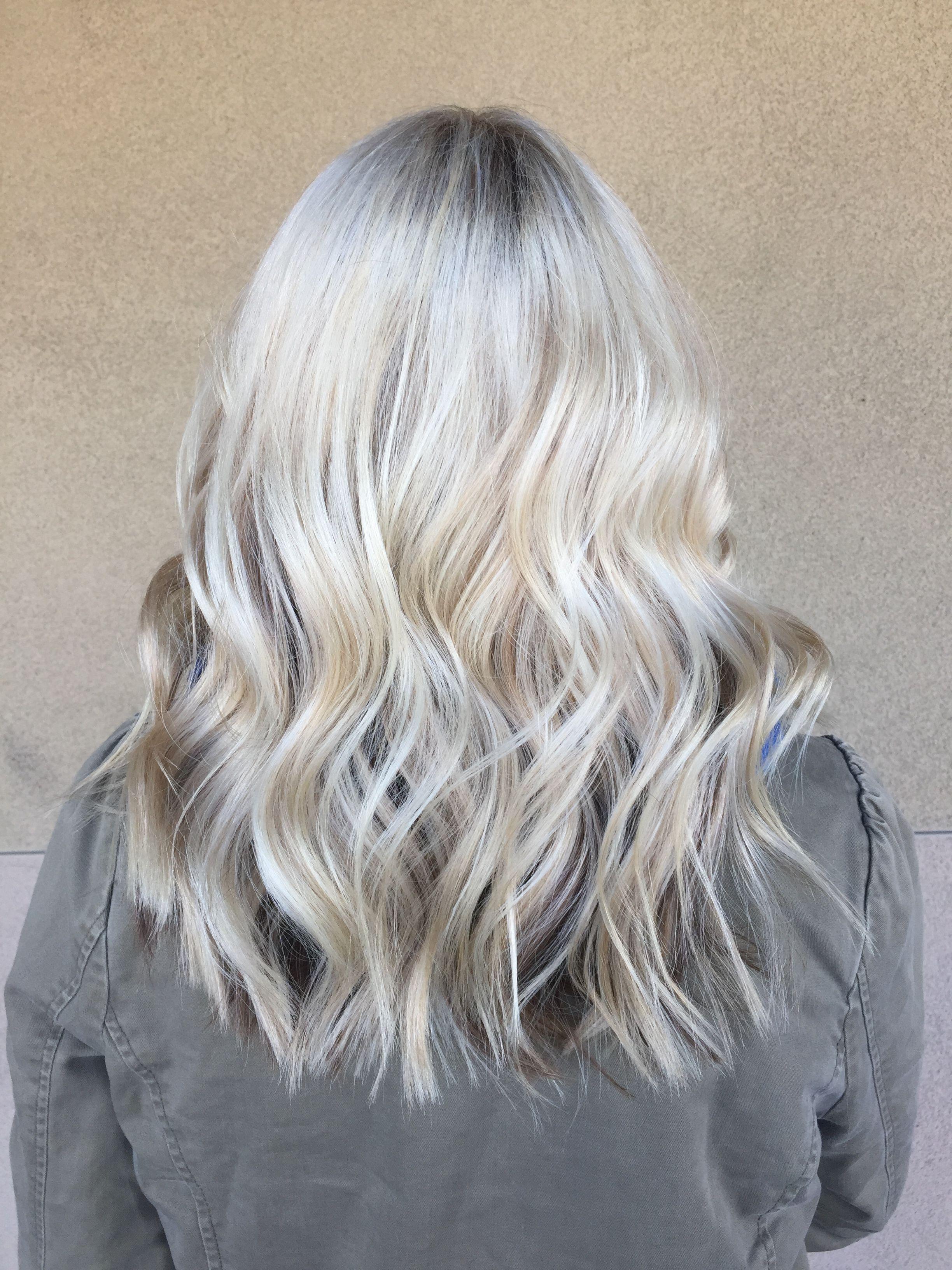 Platinum Blonde Ombre Baliage Highlights Blonde Ombre Platinum