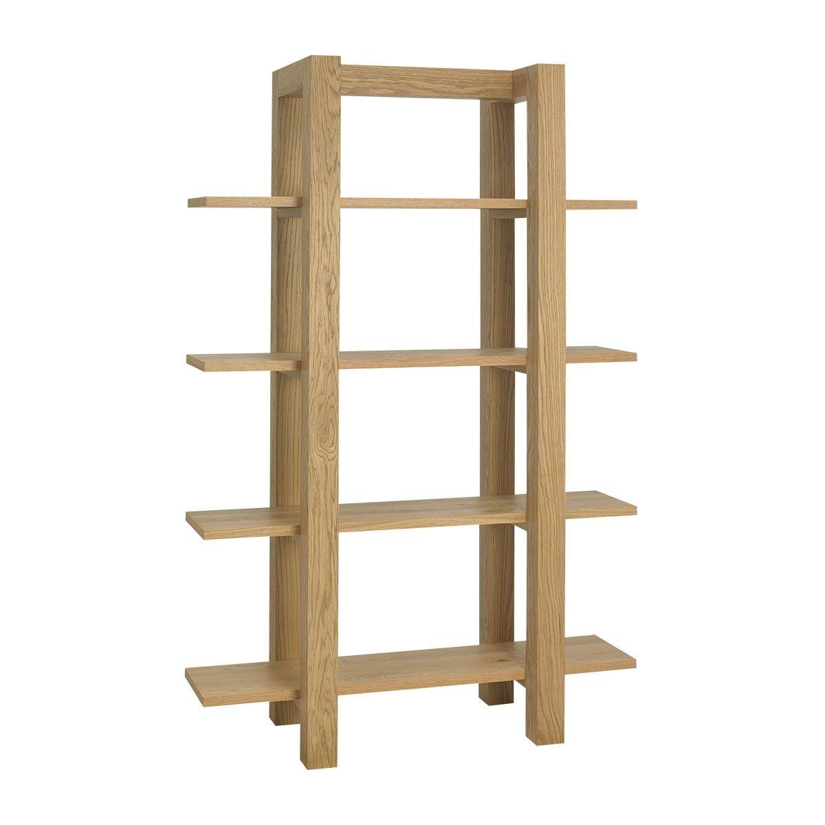 Mason Open Shelf Unit Open Shelving Shelves Oak Shelves