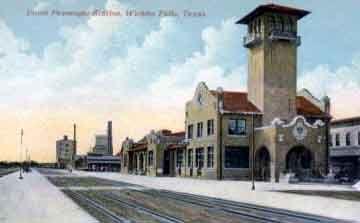 Image Detail For Txrrhistory Com Union Depot Wichita Falls Texas Wichita Falls Places Hometown