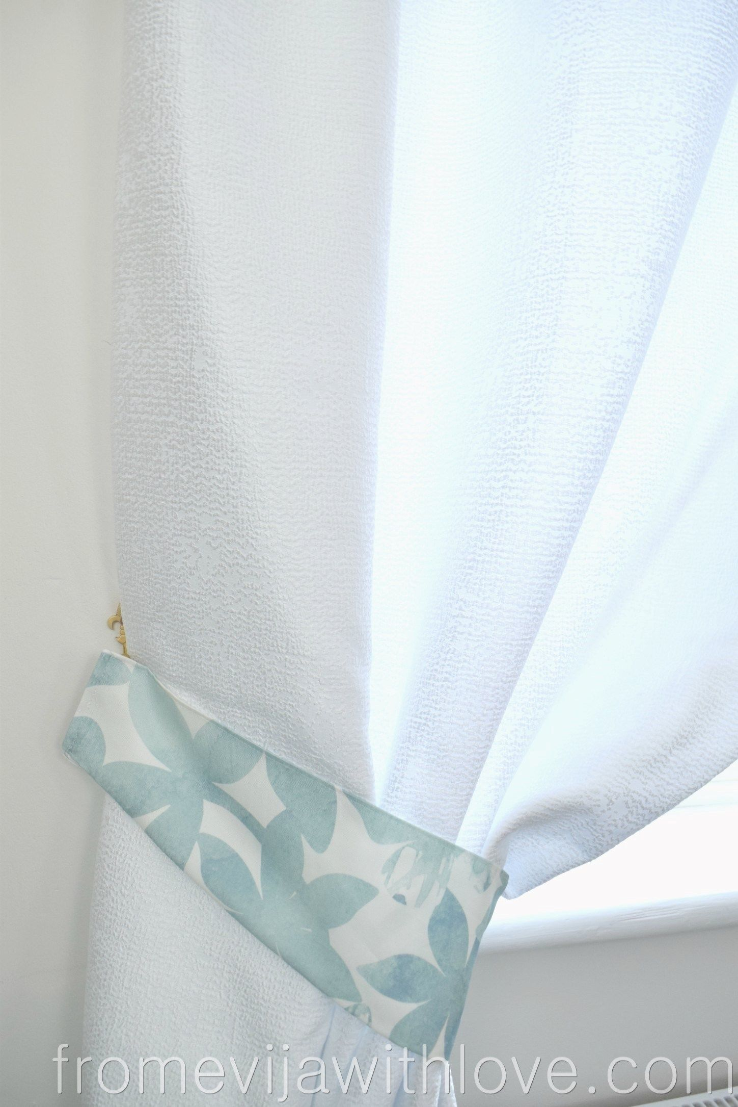 How To Make Tie Backs For Curtains Curtain Tie Backs Curtain