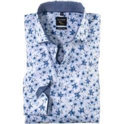 Photo of Olymp Nr. Sechs Shirt, super schlank, extra langer Arm, bleu, 40 Olymp