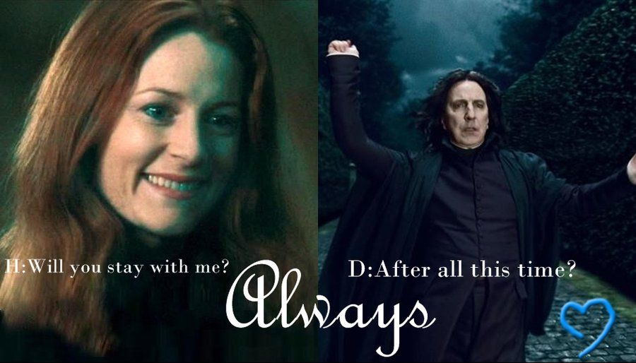 Image result for lily and snape