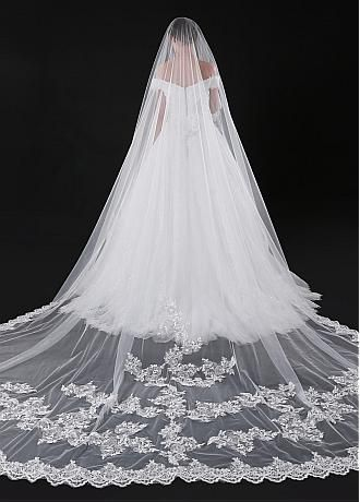 Buy Lace And Long Cheap Wedding Veils For Sale Adasbridal Com Bridal Veils And Headpieces Tulle Wedding Veil Beach Wedding Veil