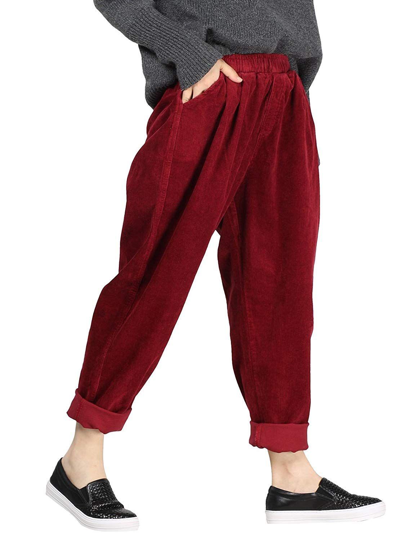 Modestil von 2019 am besten geliebt Online-Einzelhändler Damen Cordhose | Rot | Vogstyle | ab 29,99€ bei Amazon ...