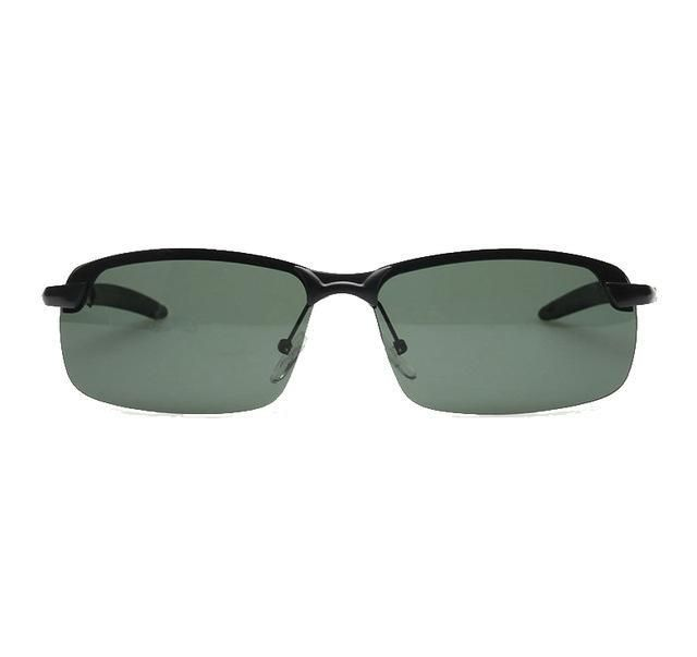 8235652cedefd Professional Military Men Polarized Sunglasses Half Frame Night Version