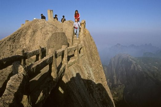 Mount Hua Shan, China.Photo: Getty Images/iStock/Alamy