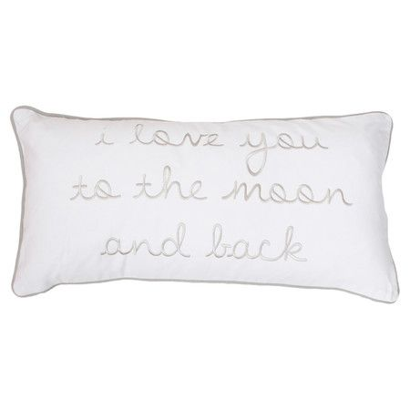 To The Moon and Back Pillow  at Joss and Main