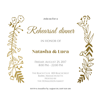 free dinner party invitation templates