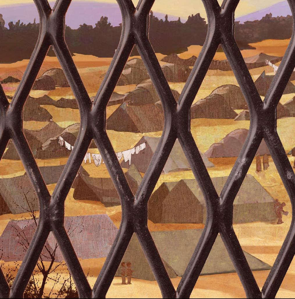 Campo de refugiados la guerra expulsa de sus pa ses a los - La llave del hogar ...