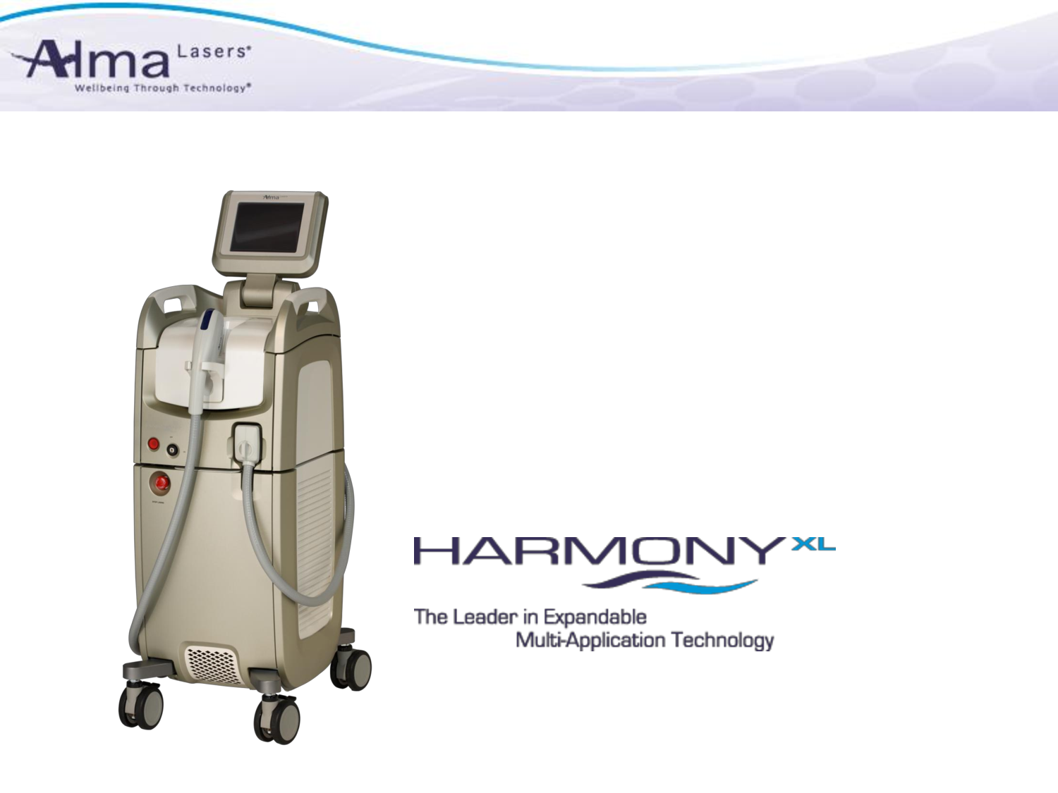 The Alma Harmony Laser system is used for a multitude of